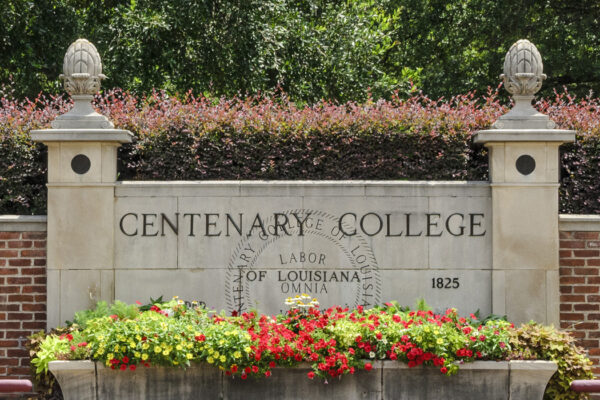 Centenary College welcome