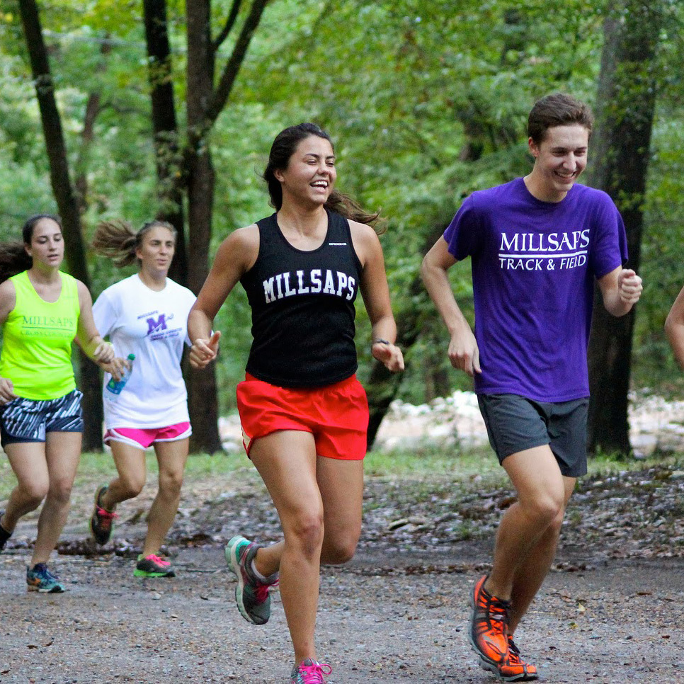 Millsaps student runners