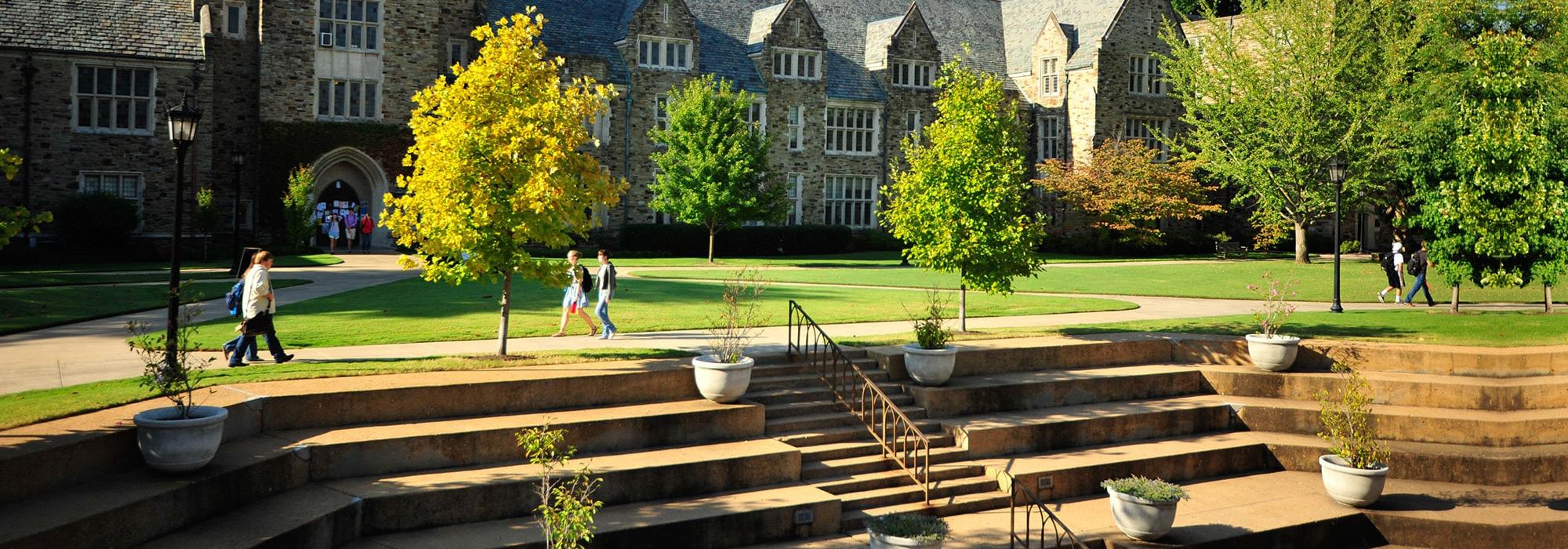 Rhodes College campus