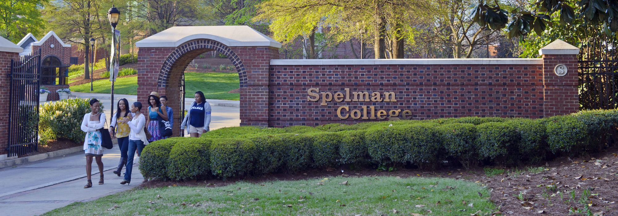 Spelman College entrance