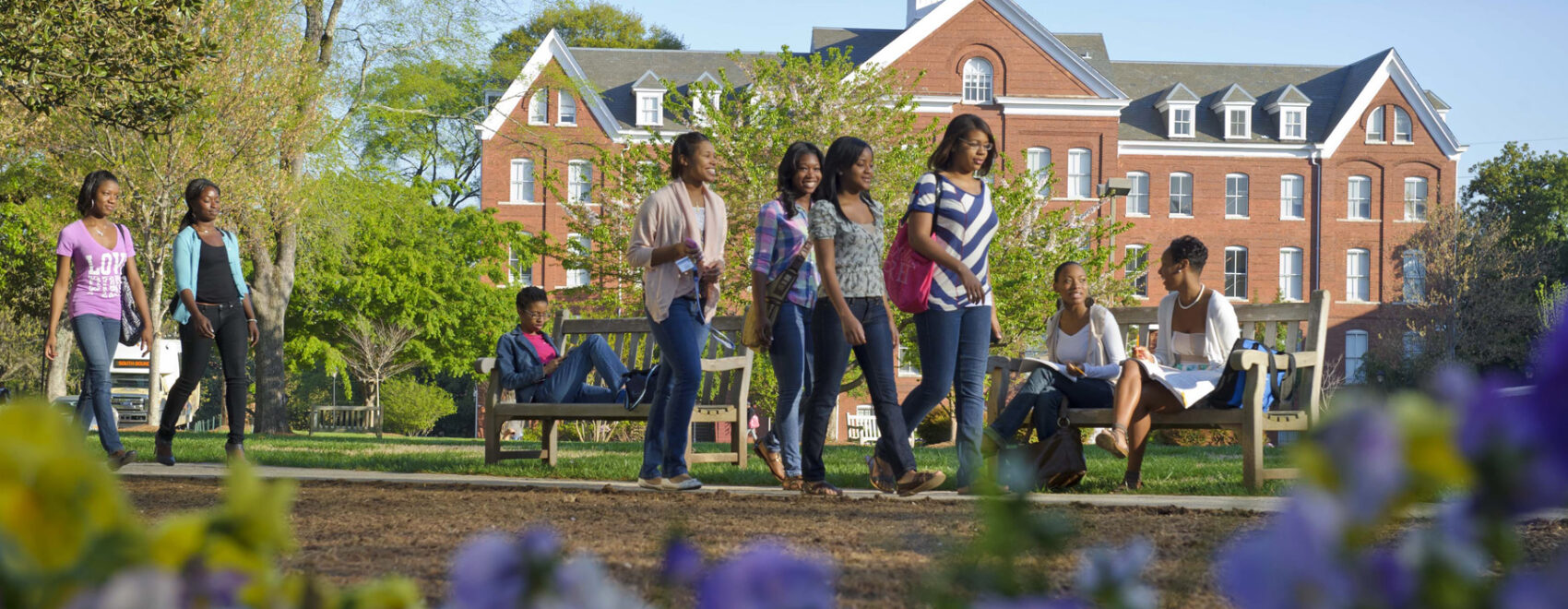 Spelman Students on the Oval