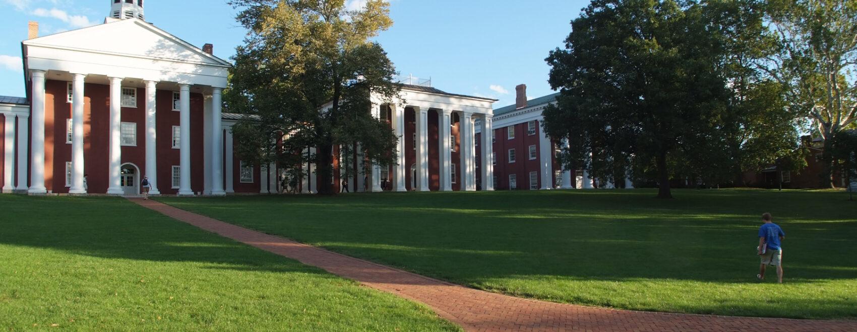 The campus at Washington & Lee University